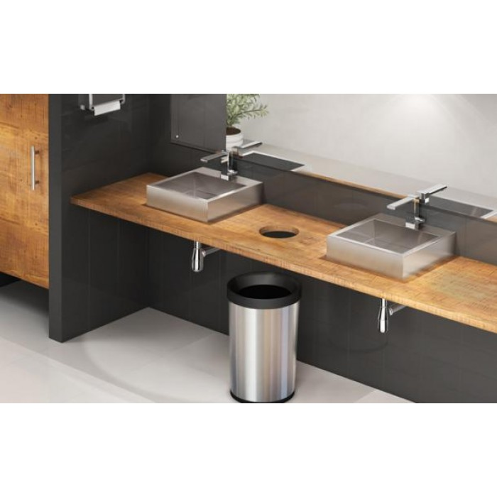 tramontina cuba inox para lavabo quadratta fx 94130 107 cubas inox na. Black Bedroom Furniture Sets. Home Design Ideas